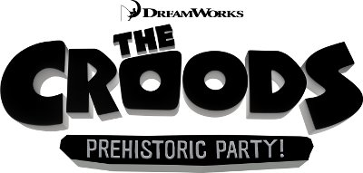 The Croods Logo The Croods Prehistoric PartyThe Croods Logo