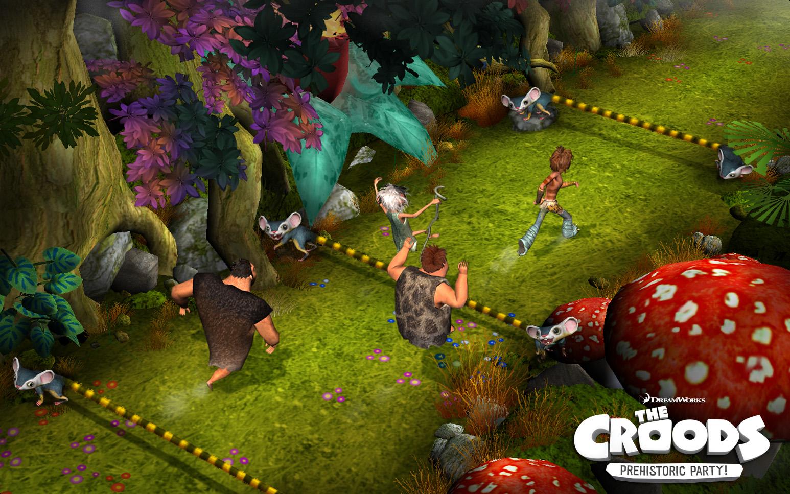 croods running