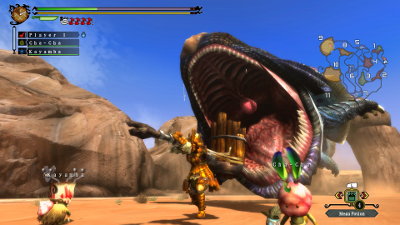 Monster Hunter 3 Ultimate screenshot #1