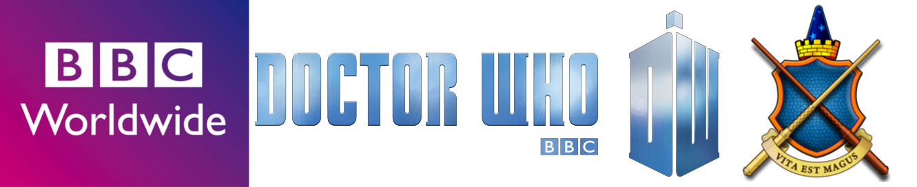 Doctor Who Sonic Screwdriver Universal Remote Control BBC Logo, Doctor Who Logo and The Wand Company Ltd. Logo