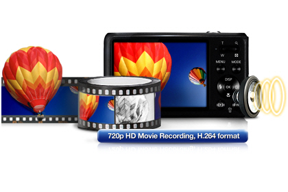 Samsung DV101 720p HD Movie Recording