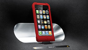 Philips DS7530/05 Docking Speaker iPod/iPhone Spring-loaded Docking Port
