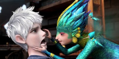 Jack Frost Having His Teeth Checked