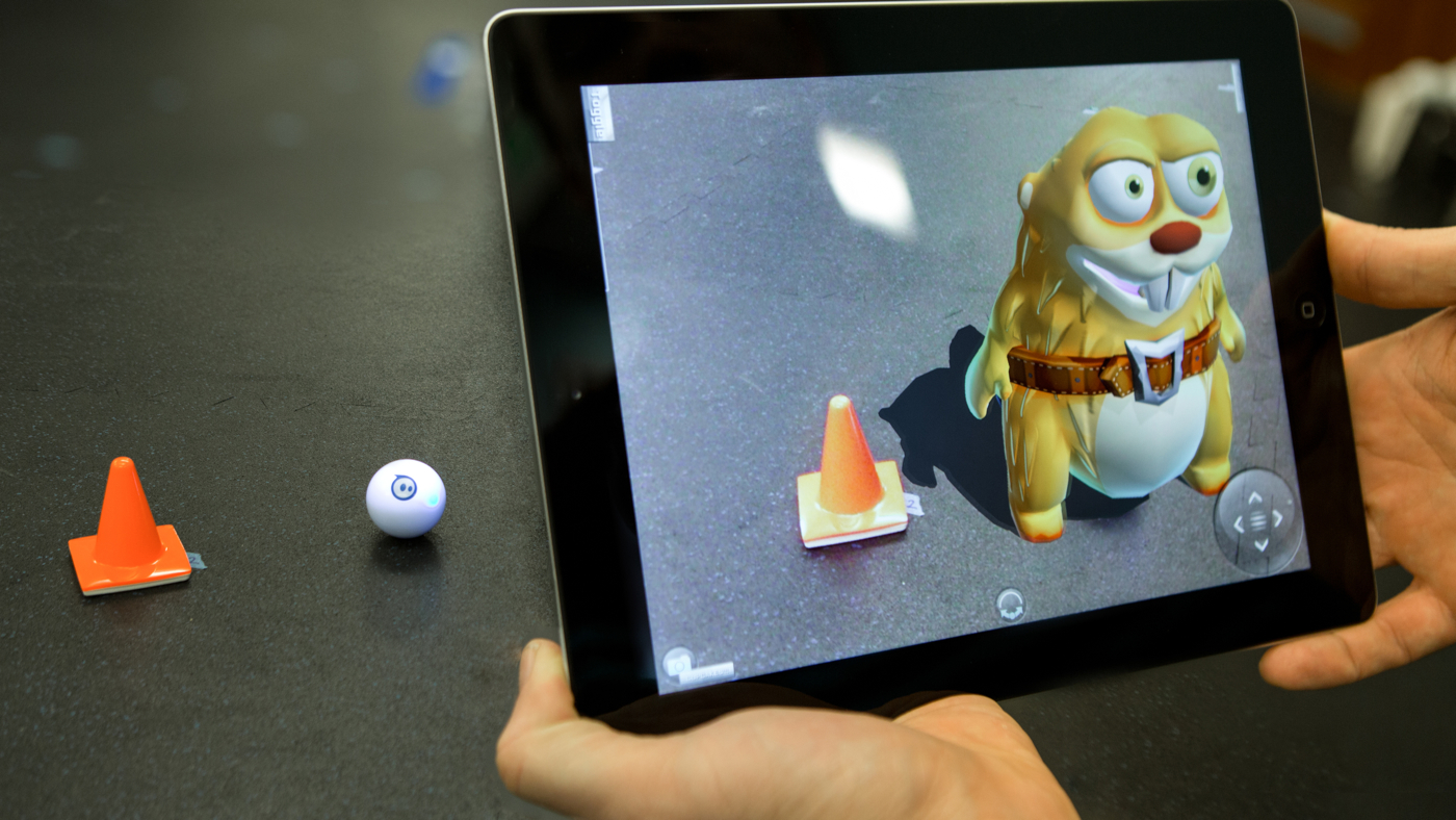 Sphero Augmented Reality Sharky the Beaver App