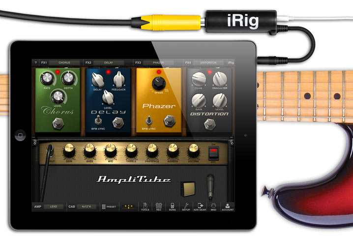 iRig Guitar Connection
