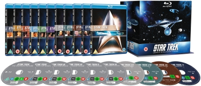 Star Trek 1-10 exploded packshot