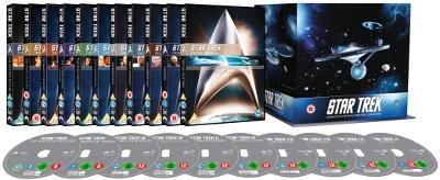 Star Trek 1-10 exploded packshot