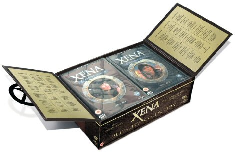 Xena The Ultimate Collection Open Box