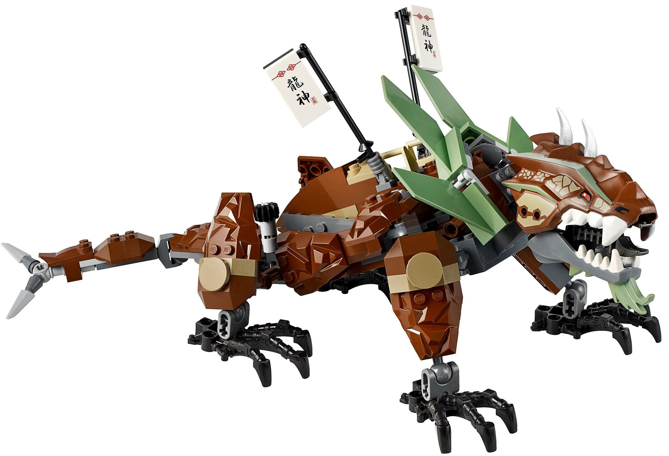 Lego Ninjago Dragon Dragon s tail attack