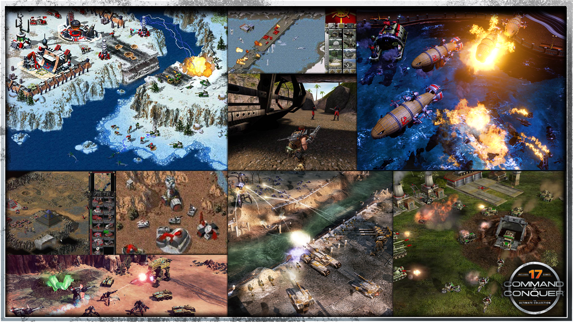 Command And Conquer Ultimate Collection: Command And Conquer: The Ultimate Collection PC