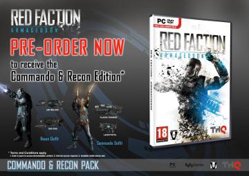 The contents of the Command and Recon Edition, laid out and explained