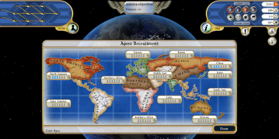 world map overview