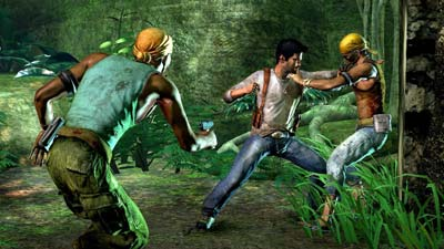 Uncharted: Drake's Fortune screenshot #2