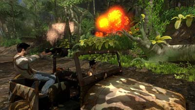 Uncharted: Drake's Fortune screenshot #4