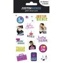 Justin Bieber I Love (Glitter) - Glitter Sticker Pack