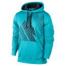 Nike Men's KO Block Hoodie - Gamma Blue