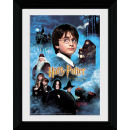 Harry Potter and the Philosophers Stone Candles - Collector Print - 30 x 40cm