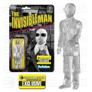 ReAction Universal Monsters Clear Invisible Man EE Exclusive 3 3/4 Inch Action Figure