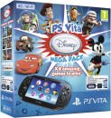 PS Vita (3G and Wi-Fi Enabled) - Includes Disney Mega Pack + 16GB Memory Card