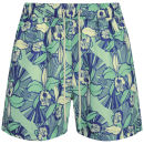 Oiler & Boiler Men's Tuckernuck Rio Classic Swim Shorts - Lemon Mint