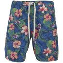 Jack & Jones Originals Men's Floral Swim Shorts - Bright Cobalt
