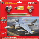 Airfix Starter Set Harrier GR9