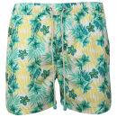 Oiler & Boiler Men's Classic Swim Short - Green Floral