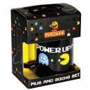 Pac-Man Power Up Mug & Socks Set