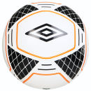 Umbro Geometra Vero Football - White/Black/Orange