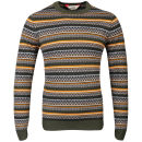 Tokyo Laundry Men's Carrock Crew Neck Knit - Forest Green