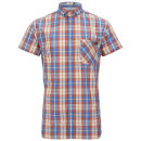 Jack & Jones Originals Mens Balm Shirt - Spiced Coral
