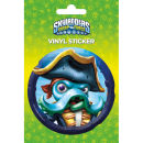 Skylanders Swap Force WashBuckler - Vinyl Sticker - 10 x 15cm