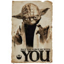 Star Wars Yoda May The Force - Maxi Poster - 61 x 91.5cm