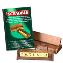 Scrabble - Deluxe Wooden Scoring Racks