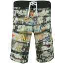 Animal Men's Beeched Fixed Waist Board Shorts - White