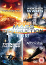 Movies of Mass Destruction Collection (World On Fire / Weather Wars / Tornado Warning / Quantum Apocalypse)