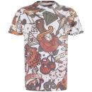 Soul Star Men's Poker T-Shirt - White