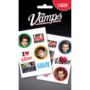 The Vamps Mix Tattoo Pack 10 x 17cm