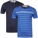 Slazenger Men's 2 Pack T-Shirts - Navy/Blue