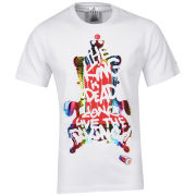 adidas Men's King T-Shirt - White/Red