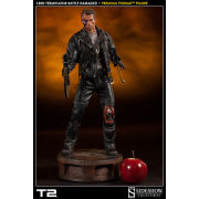 Sideshow Collectables T:800 Terminator Battle Damaged 21 Inch Figure