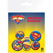 Superman Comic Style - Badge Pack