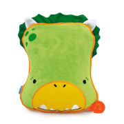 Trunki SnooziHedz Travel Pillow and Blanket - Dudley the Dino - Green
