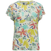 Paul by Paul Smith Women's Floral T-Shirt - Multi