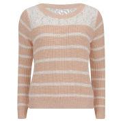 ONLY Women's Gossip Knitted Jumper - Peach Melba