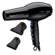 Diva Professional Rapida 3600 2000W Hairdryer - Black