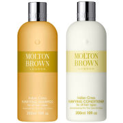 Molton Brown Indian Cress Purifying Shampoo & Conditioner 300ml (Bundle)