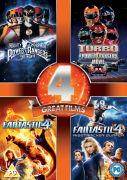 Power Rangers / Power Rangers 2 / Fantastic Four / Fantastic Four: Rise of the Silver Surfer