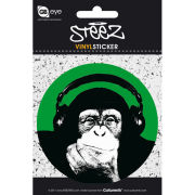 Steez Monkee - Vinyl Sticker - 10 x 15cm
