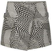 Opening Ceremony Women's Techno Military Mini Skirt - White Multi
